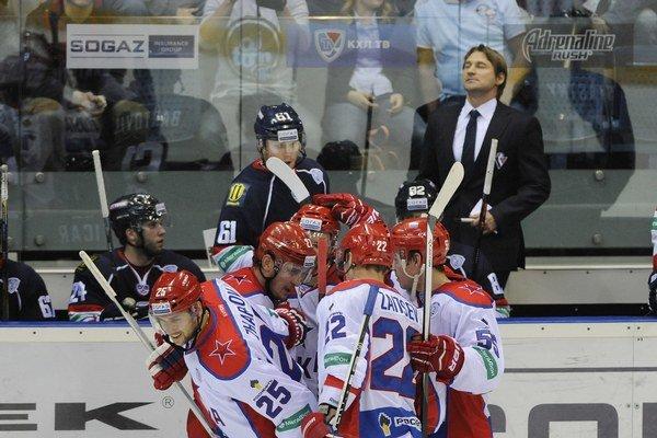 Hokejisti CSKA Moskva.