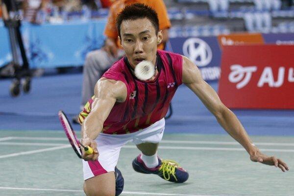 Lee Chong Wei počas Ázijských hier.