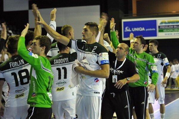 Hádzanári Prešova zvládli zápas v Novom Sade.
