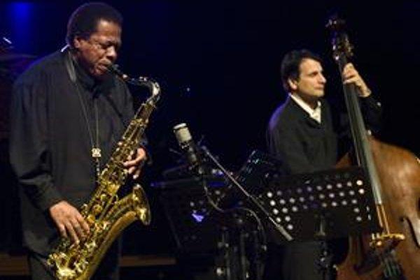 SaxofonistaWayneShorter si v utorok zahral prvýkrát na Slovensku.
