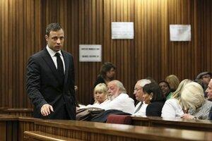 Oscar Pistorius čakal na verdikt súdu.
