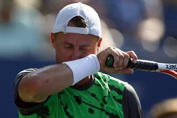 Lleyton Hewitt počas tohtoročných US Open.