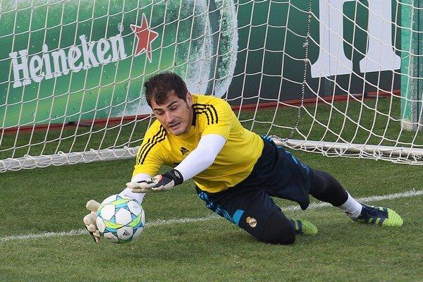 Ikel Casillas príde so španielskou reprezentáciou do Žiliny.