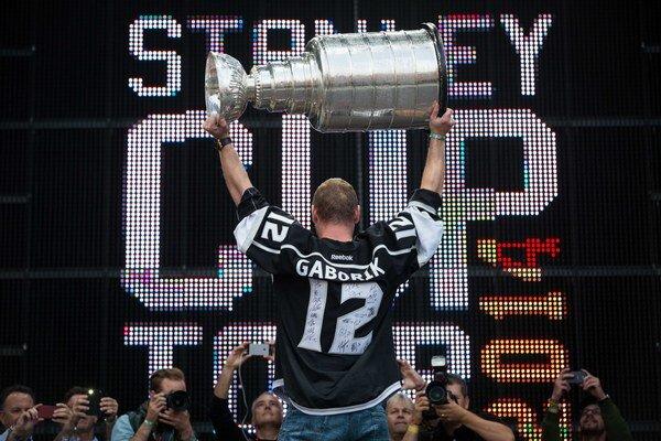 Gáborík bude s LA obhajovať Stanleyho pohár.