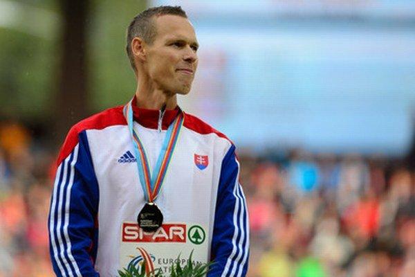 Matej Tóth získal striebro.