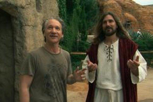 Bill Maher a Ježiš zo zábavného parku.