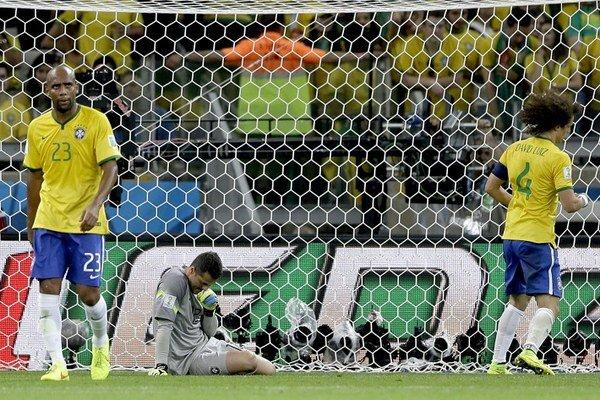 Brazília si na domácom šampionáte zahrá len o tretie miesto.