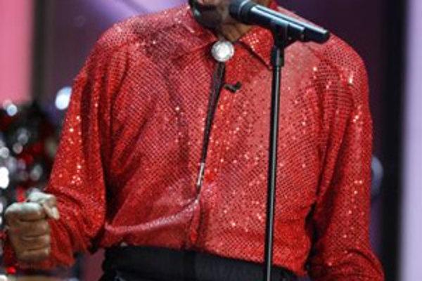 Americký muzikant Chuck Berry.