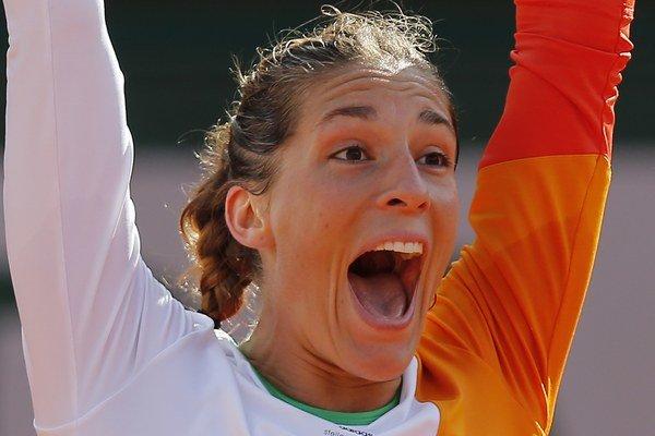 Andrea Petkovicová si prvý raz zahrá v semifinále Roland Garros.