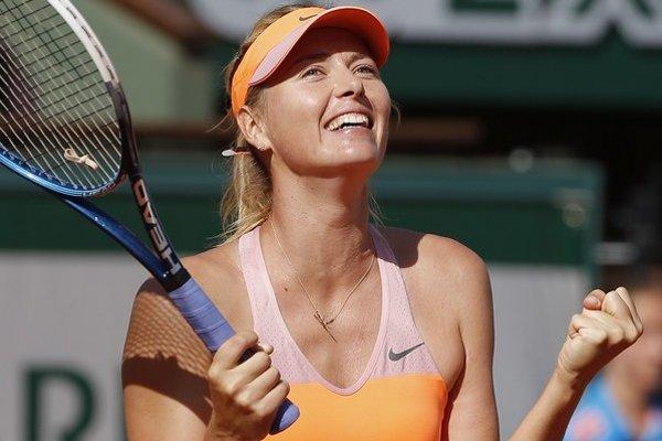Maria Šarapovová si finále Roland Garros zahrá tretíkrát za sebou.