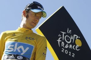 Bradley Wiggins vyhral Tour de France pred dvomi rokmi.