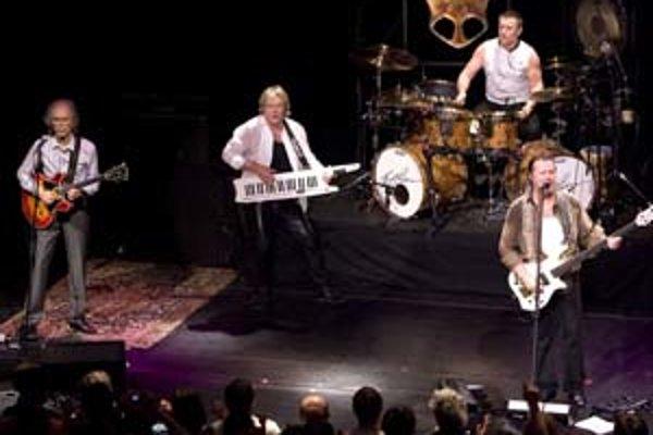 Britská skupina Asia na koncerte v Bratislave.