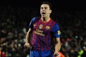 Špílmacher španielskeho futbalového gigantu FC Barcelona Xavi Hernandez.