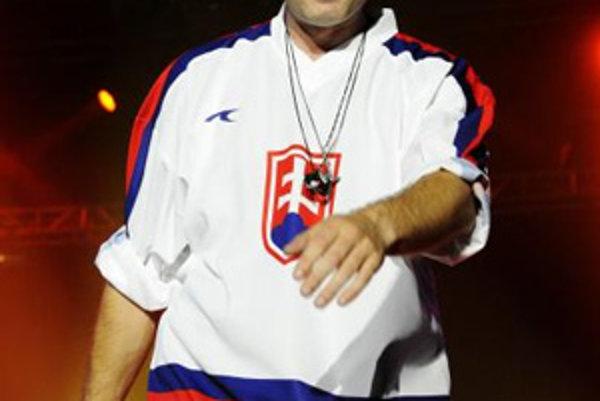 Daniel Landa vystupuje na jednom z dvoch koncertov na Slovensku počas jeho turné Československo 2008. Košice, 23. máj 2008.