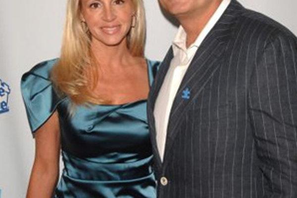 Herec Kelsey Grammer so ženou Camille.