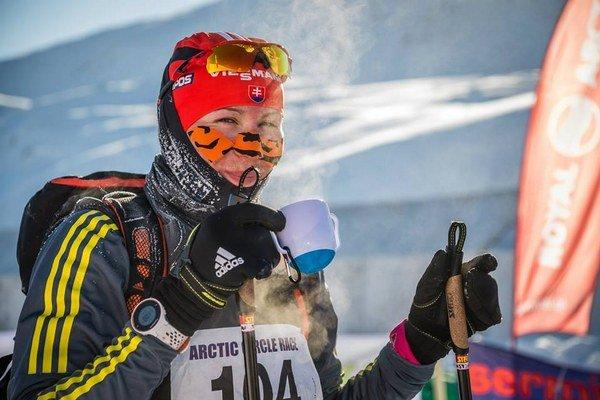Bol to veľký zážitok i dobrodružstvo, vraví o Arctic Circle Race v Grónsku Anastasia Kuzminová.