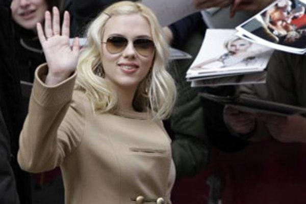 Americká herečka Scarlett Johanssonová.