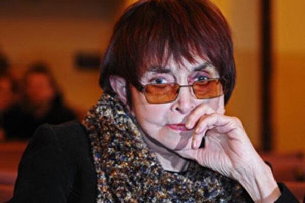 Režisérka Věra Chytilová.