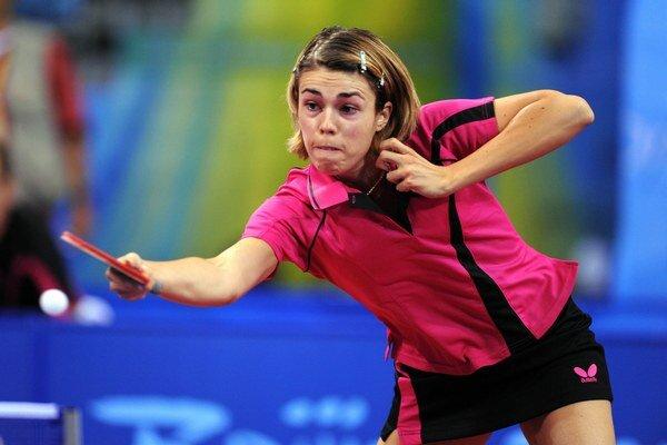 Slovenská stolná tenistka Eva Ódorová.