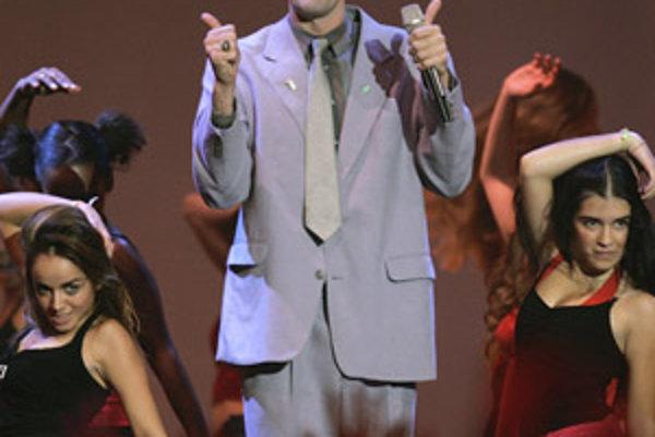 Herec Sacha Baron Cohen, predstaviteľ Borata.