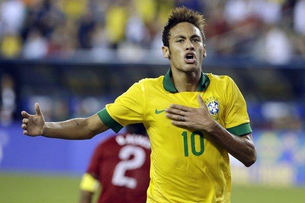 Brazílčanov povedie na šampionáte Neymar.
