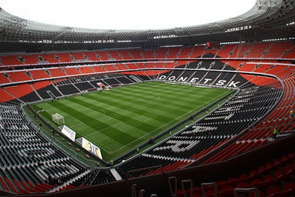 Štadión Donbasu Doneck.