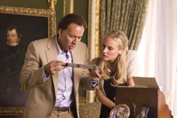 Nicolas Cage a Diana Krugerová v akčnom filme Honba za pokladom.