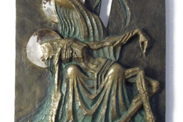 Ľubomír Purdeš, PIETA, bronz (2005).