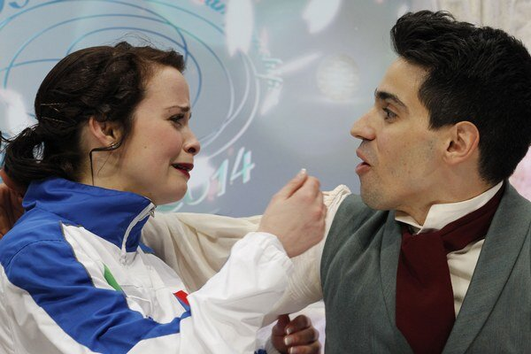 Anna Cappellini a Luca Lanotte.
