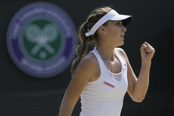 Belinda Benčičová vlani vyhrala juniorku na French Open i na Wimbledone.