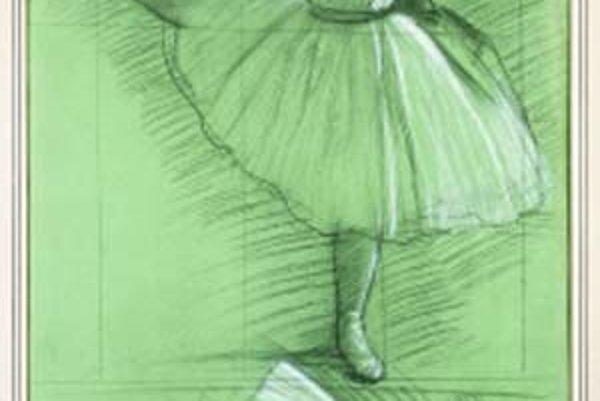 Edgar Degas: Dve štúdie tanečníčky.