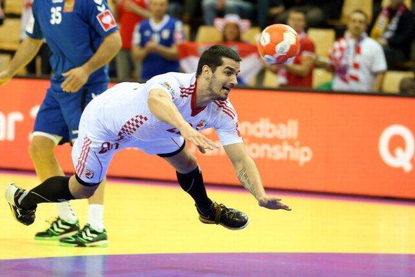 Zápas Rusko - Chorvátsko skončil 25:33