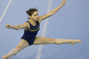 Lais Souza v roku 2008 ešte ako gymnastka.