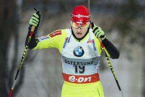 Slovenská biatlonistka Jana Gereková.