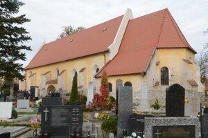 Kostol sv. Jána Krstiteľa.