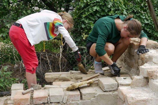 Prvý turnus s názvom Letná škola archeológie prebiehal v druhej polovici júla.