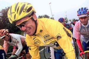 Stuart O'Grady počas Tour de France 1998.