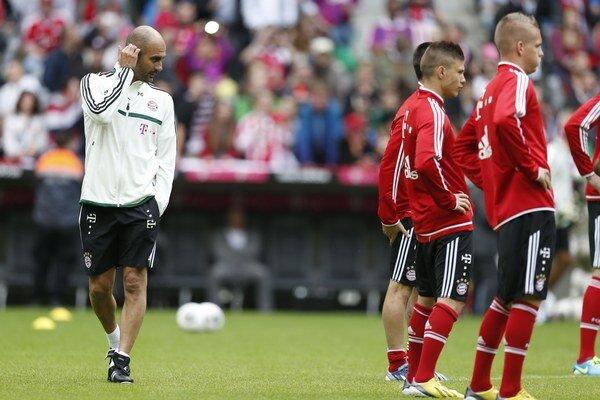 Najsledovanejším mužom sezóny v Nemecku bude španielsky tréner Bayernu Mníchov Pep Guardiola, na snímke 26. júna 2013 v Mníchove absolvoval svoj prvý tréning s mužstvom.