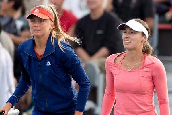 Daniela Hantuchová (vľavo) a Martina Hingisová