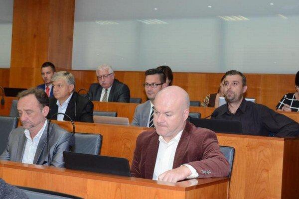 Z 12. zasadnutia krajských poslancov.