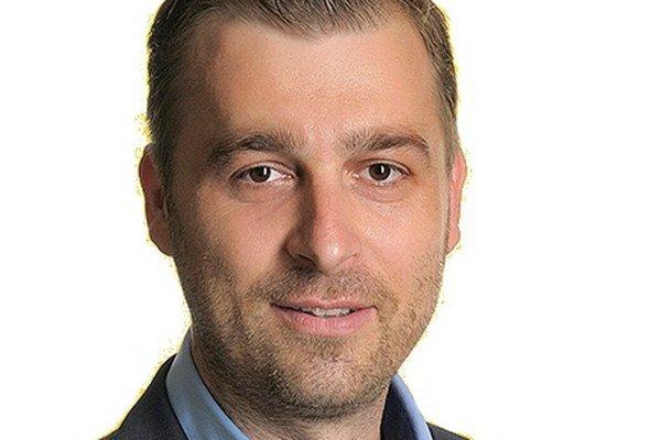 Nový primátor Piešťan Miloš Tamajka.