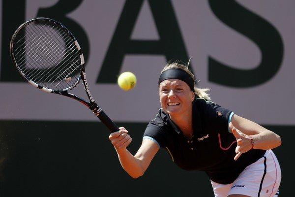 Zuzana Kučová si užíva svoj posledný turnaj, na Roland Garros je v 2. kole. Už má istotu 160 bodov do hodnotenia a prémie 35 000 eur.