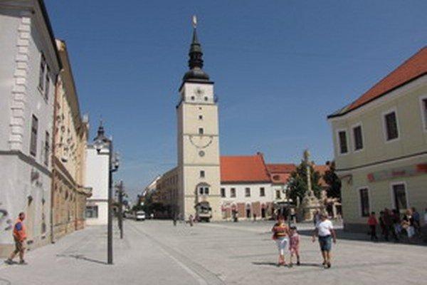 Mestská veža v Trnave.