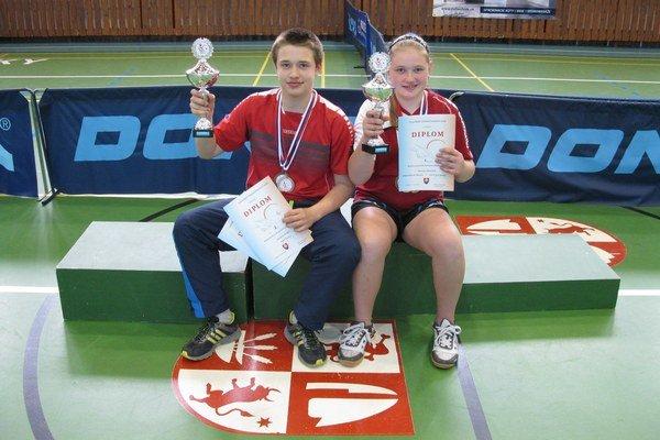 Štefan Peko a Tatiana Kukuľková.