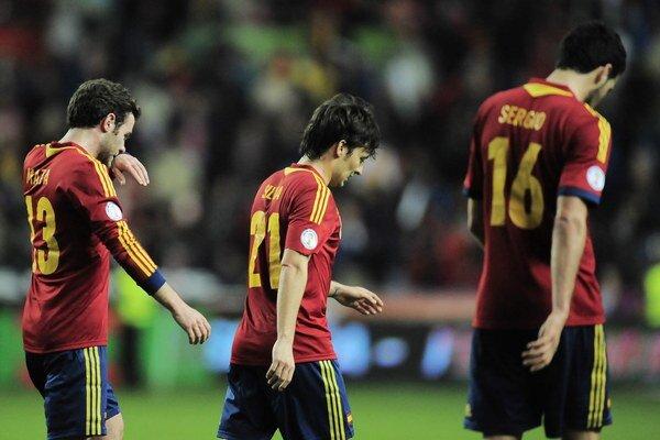 Španieli v piatok len remizovali doma s Fínskom 1:1.