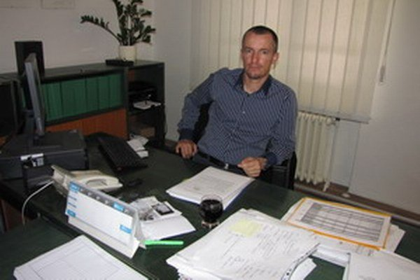 Riaditeľ trnavskej nemocnice Martin Tabaček.