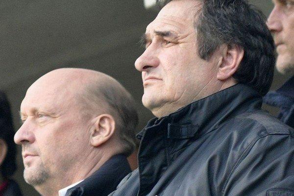 Vladimír Poór (vľavo) a Miroslav Náhlik.