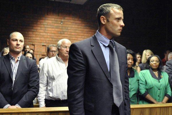 Pistorius na súde.