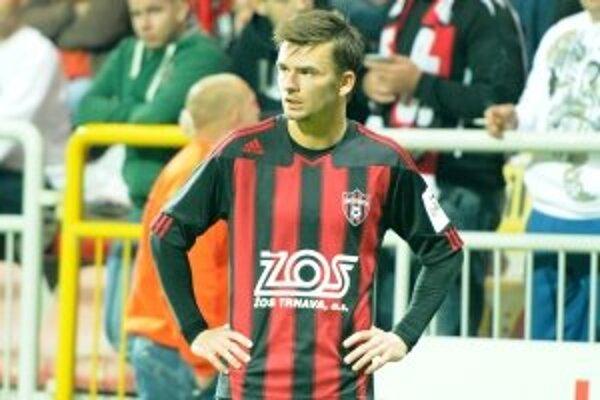 Michal Gašparík bol z remízy sklamaný.