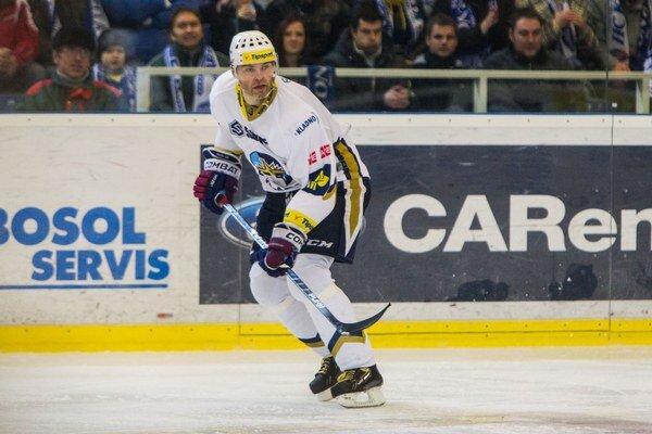 Jaromír Jágr zaznamenal v 34 zápasoch českej ligy 57 bodov.